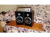 NIKKO Amp/SANYO Speakers