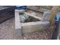 Three sided Garden Planter / Feature