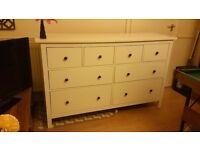 HEMNES Chest of 8 drawers
