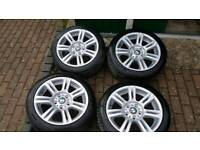 "Bmw 17 "" m sport wheels"