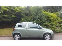 TOYOTA YARIS AUTOMATIC, 54 REG, 1.0 LITRE, 85K MILES, FSH, HPI CLEAR, MINT, DELIVERY AVAILABLE