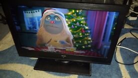 Bush 19 inch led tv,built in freeview,usb,hdmi,good working order in Torquay!