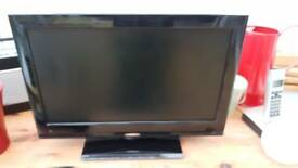 Flat sceen tv with built in dvd