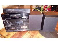 Technics Hifi system SU-x820 SL-PJ28A ST-X830L speakers