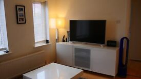 White high gloss TV unit - immaculate condition