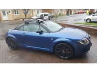 Customised Audi TT mk1 (Denim Blue with Black roof and spoiler/wing mirrors)