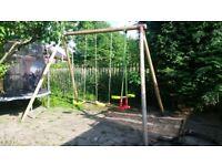 Double single swing