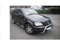 Mercedes ML 270 CDI 2000 7 seater