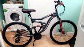 i am selling bike cos of i got free bus transport oystercard. its almost new bike just used once.