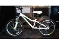 "Apollo moonstone girls bike 20"" wheel suit age 7-10"