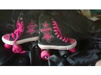 Quad skates roller boots size 3