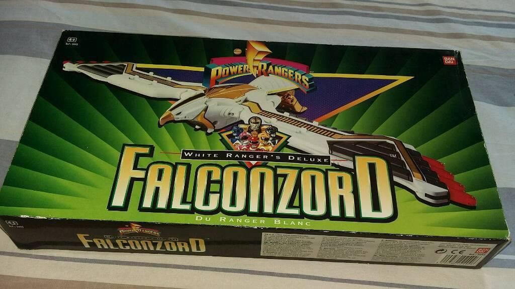 Rare power ranger falconzord