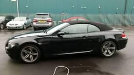 Bmw M6 convertible ex motor show launch car