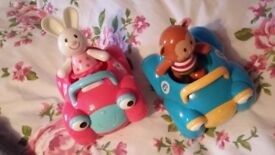 Toddler cars with characters