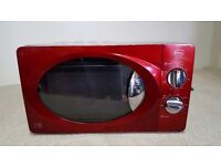 Swan Micowave Oven - Red - other colours avaialble- Violet, Cream