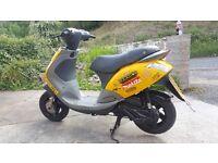 Piaggio zip 50cc moped bike