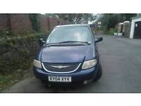 Chrysler Voyager 2.5 CRD 2004 Spares or Repair