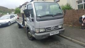 Nissan cabstar 3.0 rd recovery truck