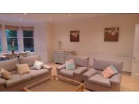 3 Piece Lounge Suite including Sofa Bed