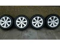 Mercedes Alloys & Winter tyres