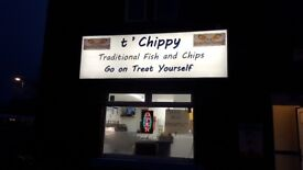 Fish and chips shop for rent or sale