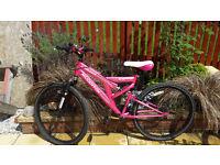 Ladies aphrodite muddyfox sprtz mountain bike