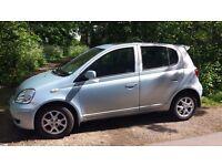 53(reg), Toyota Yaris Hatchback, Alloy wheels, AC, Low mileage, 1.0L, Petrol