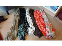 Scarves / material for crafts