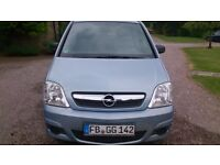 2009 Opel Meriva left hand steering, low mileage, great for relocating to Germany