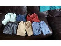 20 pairs of Boys shorts age 3-6
