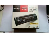 sony xplode car radio, cd player, mp3 and usb, iPod