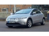 Honda Civic 1.8 i-VTEC EX 5dr ((FULL SERVICE HISTORY+W.MILEAGE+SAT NAV+12 MONTHS MOT))