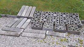Garden wall blocks & Coping