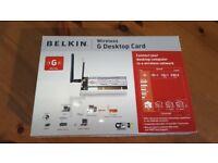 Belkin Wireless Network card