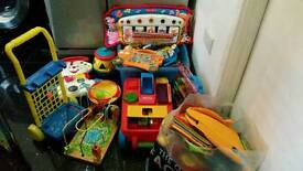 Large selection of baby/child's toys fisher price V-tech etc.