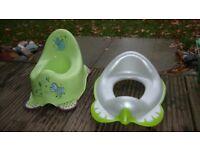 Pottie and Toilet Seat