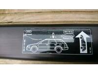 Roof Bars for Audi A6 C5 Avant, genuine Audi