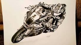 Jonathan Rea world superbike kawasaki prints
