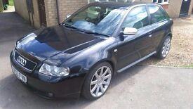 Audi S3 fully service history BAM