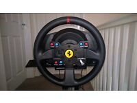 Thrustmaster T300 Ferrari GTE Wheel with Stand for PS3/PS4/PC