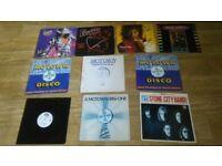 10 x rick james - vinyl collection LP's / 12 inch / promo's