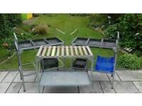 Garden Potting Benches.
