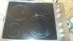 GE Profile Stainless Steel Glass Cook Top - Item#2