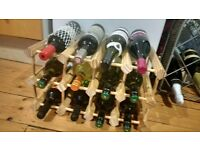 Modular 12 Bottles Wood Wine Rack from the Wine Enthousiast