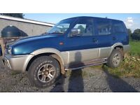 4x4 Nissan Terrano 2.7 td