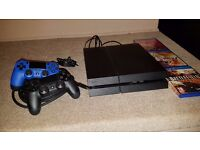 PS4__1Tb__2 controllers__3 games__hdmi cable