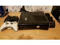 Xbox360 console with extras and games