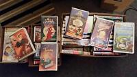 75 KIDS VHS ANIMATED MOVIES