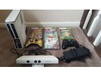 Xbox 360 Limited Edition Star Wars Kinect 320GB Console + 4 Games Bundled