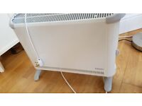 Heater with thermostat, 1 yr old, perfect condition